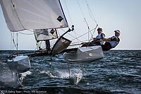 2017 Long Beach Training (49er, Nacra 17, Laser, 470M)