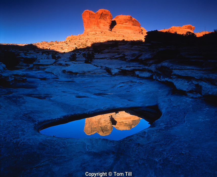 Canyon Reflections at Sunset,  Proposed  Wilderness, Utah