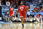 23 March 2015: Ohio State's Ameryst Alston. The University of North Carolina Tar Heels hosted the Ohio State University Buckeyes at Carmichael Arena in Chapel Hill, North Carolina in a 2014-15 NCAA Division I Women's Basketball Tournament second round game. UNC won the game 86-84.