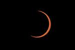 Annular eclipse, Katavi National Park, Tanzania