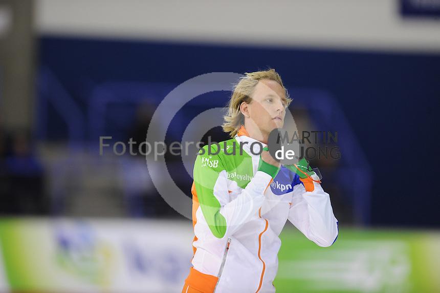 SCHAATSEN: CALGARY: Olympic Oval, 08-11-2013, Essent ISU World Cup, Ronald Mulder (NED), ©foto Martin de Jong