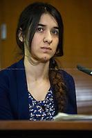 """12.02.2016 - """"Yazidi ISIS Survivor - A Conversation with Nadia Murad"""""""