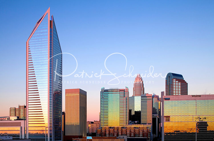 Charlotte NC skyline as seen from Charlotte's south side | Patrick ...