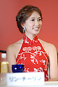 Lin Chiling attends a press conference Wednesday during a promotion for their new film &quot;Red Cliff.&quot; It opens Nov 1 after its debut at the Tokyo International Film Festival in October.  6 August, 2008. (Taro Fujimoto/JapanToday/Nippon News)