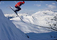 Canadian skiing at Whistler Mountain with Jim McConkey 1971. Photos by John G. Zimmerman.