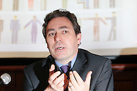 NO REPRO FEE. 20/5/2011. Irish Council for Civil Liberties- Tell UN of Irelands failure to combat inhuman and degrading treatment. Pictured at a press Briefing in Buswells Hotel, Dublin is Mark Kelly, Director, Irish Council for Civil Liberties.  Picture James Horan/Collins Photos