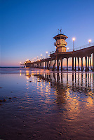Huntington Beach, Ca, Beach, Coastline, Pier, Landscape, Summer, Beauty In Nature, Scenics, USA, Surf, Beautiful, Sea, Sky