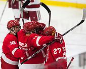 - The Harvard University Crimson defeated the visiting Cornell University Big Red on Saturday, November 5, 2016, at the Bright-Landry Hockey Center in Boston, Massachusetts.