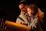 Bat Mitzvah Girl At Stephen Wise Synagogue, New York City.
