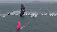 NEW ZEALAND. 11th March 2012. Volvo Ocean Race Leg 4. Leg finish Auckland. PUMA Ocean Racing powered by BERG.