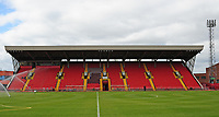 A general view of Gateshead International Stadium, home of Gateshead FC<br /> <br /> Photographer Andrew Vaughan/CameraSport<br /> <br /> Vanarama National League - Gateshead v Lincoln City - Monday 17th April 2017 - Gateshead International Stadium - Gateshead <br /> <br /> World Copyright &copy; 2017 CameraSport. All rights reserved. 43 Linden Ave. Countesthorpe. Leicester. England. LE8 5PG - Tel: +44 (0) 116 277 4147 - admin@camerasport.com - www.camerasport.com