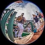 11 September 2016: Washington Nationals infielder Anthony Rendon hops up the steps of the dugout to take the field for a game against the Philadelphia Phillies at Nationals Park in Washington, DC. The Nationals edged out the Phillies 3-2 to take the rubber match of their 3-game series. Mandatory Credit: Ed Wolfstein Photo *** RAW (NEF) Image File Available ***