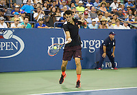 BERNARD TOMIC (AUS)<br /> <br /> The US Open Tennis Championships 2015 - USTA Billie Jean King National Tennis Centre -  Flushing - New York - USA -   ATP - ITF -WTA  2015  - Grand Slam - USA  <br /> <br /> &copy; AMN IMAGES
