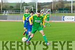 Kerry's Con Barrett in the Umbro Oscar Traynor Cup Kerry v Desmond League at Mounthawk Park on Sunday