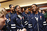 29 MAR 2012: The team arrivals as part of the festivities surrounding the Women's Final Four held in Denver, CO.  Trevor Brown Jr./NCAA Photos