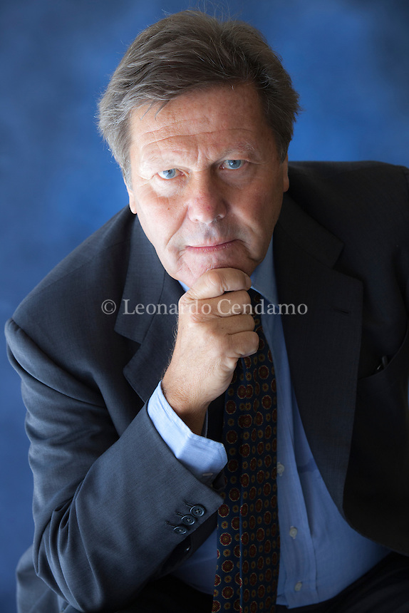 Giorgio Montefoschi (Roma, 1946) è uno scrittore e critico letterario italiano. Torino, Salone del Libro 2014. © Leonardo Cendamo