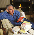 Didier Decoin, french author at home in Normandie.
