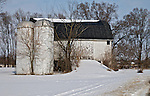 A collection of Barns that still can be seen while traveling the countryside in  the beautiful State of Wisconsin.<br /> Jefferson County- Hwy 106, 3-4 miles east of Hwy 73.