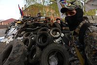Pro-Russian militia take control of Donetsk and Slovyansk