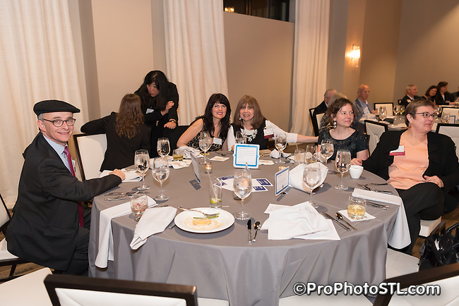 """""""Spring Fling"""" gala event presented by St. Louis Psychoanalytic Institute at Caramel Room of Bissinger's Chocolate Factory in St. Louis, Missouri on May 4, 2016."""
