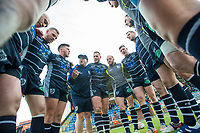 Picture by Allan McKenzie/SWpix.com - 11/05/2017 - Rugby League - Ladbrokes Challenge Cup - Featherstone Rovers v Halifax RLFC - The LD Nutrition Stadium, Featherstone, England  - Featherstone players huddle up prior to the game against Halifax.