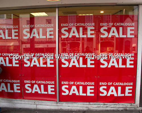 Sale at Argos, Guildford High Street.