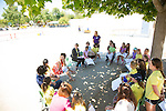 The Athena Camp hosts a mother-daughter circle that encourages positive dialogue.