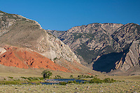The mouth of Clark's Fork Canyon