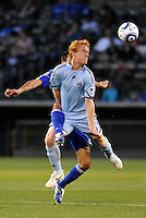 Jeff Larentowicz...Kansas City Wizards defeated Colorado Rapids 1-0 at Community America Ballpark, Kansas City, Kansas.