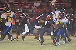 Oxford High's Xavier Pegues (44) vs. Clarksdale High in Clarksdale, Miss. on Friday, November 2, 2012. Oxford won.