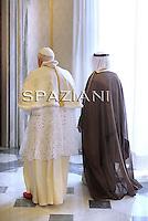 Benedict XVI meeting: Swiss  President Leuthard. Kuwait Sheikh Sabah Al Ahmad Al-Sabah. 6 May 2010