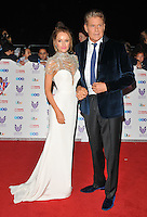 Hayley Roberts and David Hasselhoff at the Pride of Britain Awards 2016, Grosvenor House Hotel, Park Lane, London, England, UK, on Monday 31 October 2016. <br /> CAP/CAN<br /> &copy;CAN/Capital Pictures /MediaPunch ***NORTH AND SOUTH AMERICAS ONLY***