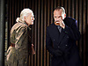 Richard III<br /> by William Shakespeare<br /> at the Almeida Theatre, London, Great Britain <br /> press photocall<br /> 13th August 2016 <br /> ----------------------<br /> STRICTLY EMBARGO'D UNTIL THURSDAY 16TH JUNE 2016 AT 22HRS ONLINE AND IN PRINT <br /> ----------------------<br /> <br /> directed by Rupert Goold <br /> <br /> Ralph Fiennes as Richard, Duke of Gloucester <br /> <br /> Vanessa Redgrave as Queen Margaret <br /> <br /> <br /> Photograph by Elliott Franks <br /> Image licensed to Elliott Franks Photography Services
