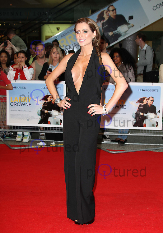 Nicola McLean Larry Crowne World Premiere, Westfield Shopping Centre, West London, UK, 06 June 2011:  Contact: Rich@Piqtured.com +44(0)7941 079620 (Picture by Richard Goldschmidt)