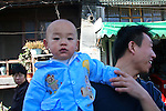Asia, China, Beijing. A child of the hutongs in Beijing.