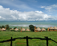 Three indiividual camps are ranged at different levels with stunning views over the Ngorongoro Crater