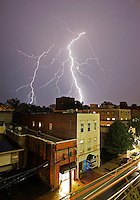 Lightning_Bad Weather_Charlottesville, Virginia