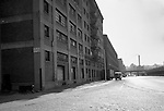 Pittsburgh PA - View of the Thorofare warehouse and offices on Smallman & 23rd Streets in the Strip District - 1956.  On location assignment for Commonnwealth Realty, selling the Thorofare warehouse building