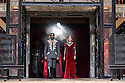 "Shakespeare's Globe presents ""Macbeth"", by William Shakespeare, directed by Iqbal Khan.  Picture shows: Ray Fearon Macbeth), Tara Fitzgerald (Lady Macbeth)"