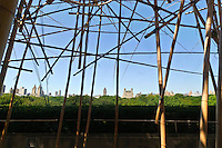 Doug + Mike Starn on the Roof: Big Bambú, Iris and B. Gerald Cantor Roof Garden, Metropolitan Museum of Art, Manhattan, New York City, New York