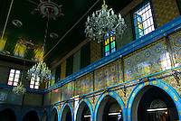 El Ghriba Synagogue interior, Djerba Island, Tunisia