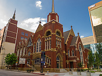 Historical building for First Baptist Church of Dallas, Texas.