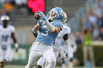 19 November 2016: UNC's Ryan Switzer catches a 72 yard touchdown pass. The University of North Carolina Tar Heels hosted the The Citadel, The Military College of South Carolina Bulldogs at Kenan Memorial Stadium in Chapel Hill, North Carolina in a 2016 NCAA Division I College Football game. UNC won the game 41-7.