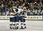 Oct. 21, 2011; Opening Hockey game in the Compton Family Ice Arena...Photo by Matt Cashore/University of Notre Dame