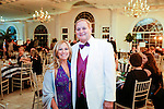 """Southington, CT- 04 February 2017-020417CM14-  Social Moments--- From left, Monique and Dr. Jack Zazzaro of Southbury  are photographed during the """"A Night in Havana"""" the 26th annual Gala put on by Saint Mary's Hospital at the Aqua Turf in Southington.   Christopher Massa Republican-American"""