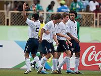 US Under 17 Men's National Team. US Under-17 Men's National Team defeated United Arab Emirates 1-0 at Gateway International  Stadium in Ijebu-Ode, Nigeria on November 1, 2009.