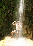 .Salto de Arcos Cascada in Soroa