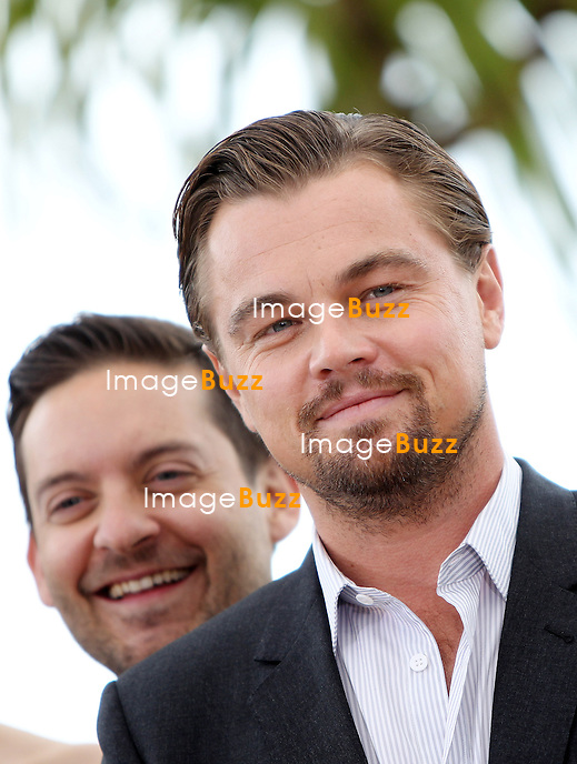 CPE/Leonardo DiCaprio attends 'The Great Gatsby' photocall on May 15, 2013 in Cannes, France