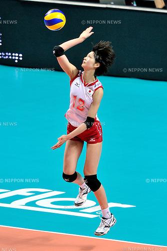 Saori Kimura (JPN), .AUGUST 25, 2011 - Volleyball : .FIVB Women's World Grand Prix 2011 match between Brazil 3-0 Japan in Macau, Hong Kong. (Photo by Ryu Makino/AFLO).