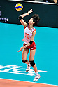 Saori Kimura (JPN), .AUGUST 25, 2011 - Volleyball : .FIVB Women's World Grand Prix 2011 match between Brazil 3-0 Japan in Macau, Hong Kong. (Photo by Ryu Makino/AFLO).